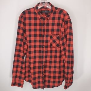 Other - Black Red pladed shirt Ed Emiqude